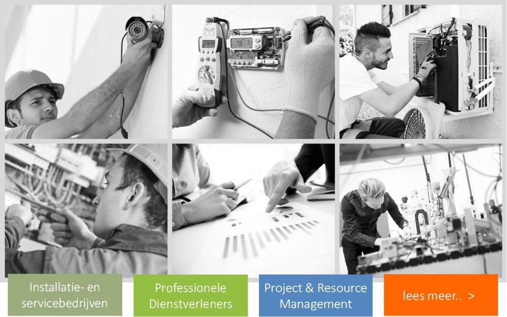 Installatiebedrijven workflow